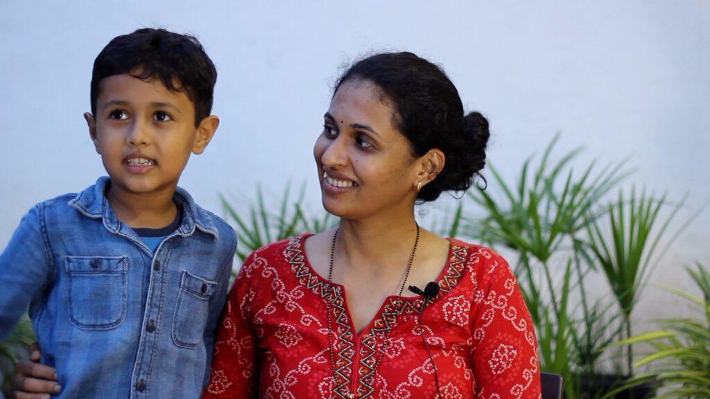 Testimonial Himansh Mother
